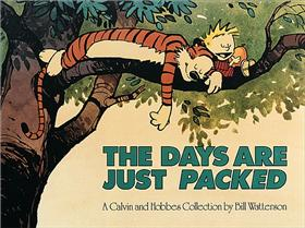 CALVIN & HOBBES The days are just packed